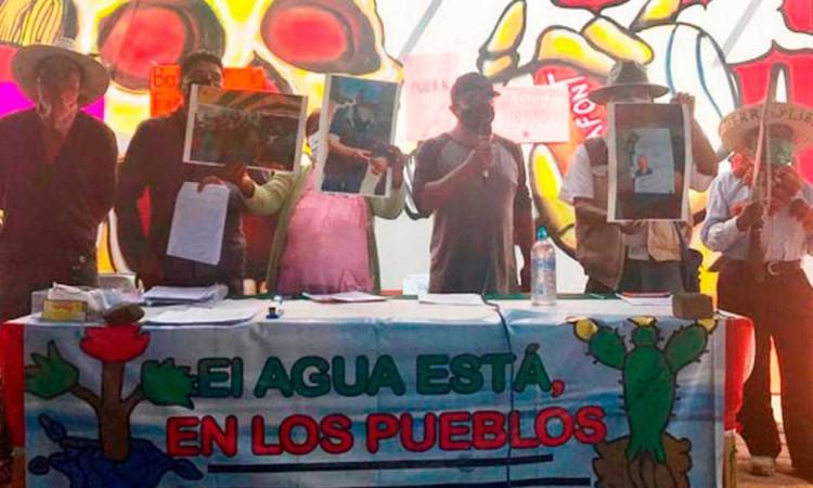 Habitantes de Juan C. Bonilla denuncian intimidación por parte de los representantes legales de Bonafont