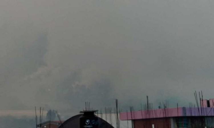Incendio en Tetela de Ocampo afecta más de 200 hectáreas de zona boscosa