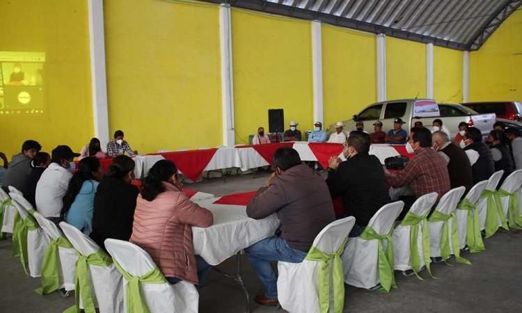 Estructuran el Comité de Planeación para el Desarrollo Municipal en Ocoyucan