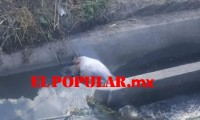 Encuentran a hombre muerto en canal de riego de Atlixco
