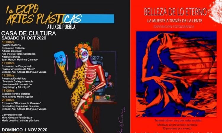 Invita Casa de Cultura de Atlixco a su primera Expo de Artes plásticas