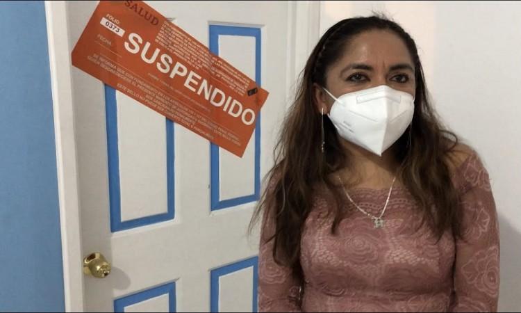 Doctora defiende su clínica en Atlixco