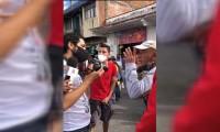 Fotorreportero se encuentra bien después de las agresiones en operativo en Atlixco