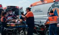¡Otra vida más! Accidente de taxi pirata en la vía Atlixcayotl cobró una tercera víctima