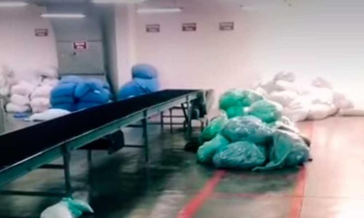 Paran labores en la planta de lavado en Metepec ante la falta de vacunas anticovid