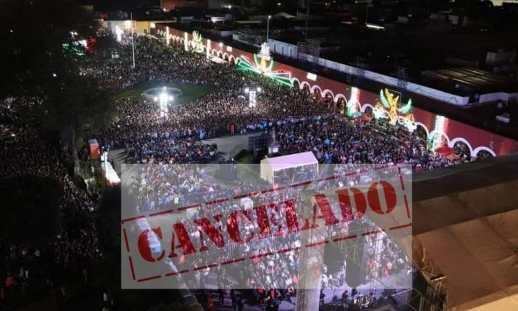 Sin grito y desfile por pandemia en San Pedro Cholula