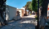 Baja afluencia a panteones en Cholula por miedo al Covid-19