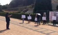 Trabajadores de INAH en Cholula exigen mejores condiciones laborales