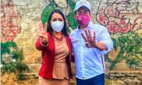 Tonanzin Fernández asegura respaldo de Mario Delgado para alcaldía de Cholula