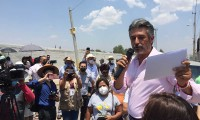 Felipe Sandoval denuncia uso de recursos públicos a favor de Karina Pérez Popoca