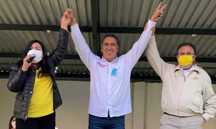 La alianza Va por México tiene como objetivo buscar equilibrio entre los Poderes de la Unión: Humberto Aguilar