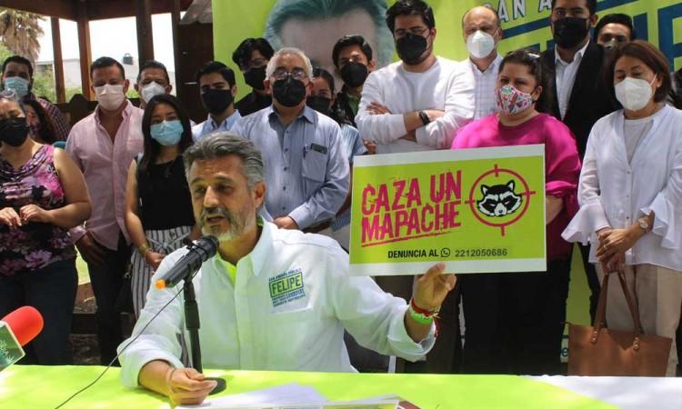 El voto útil no es por PAN o MORENA, es por la propuesta independiente: Felipe Sandoval