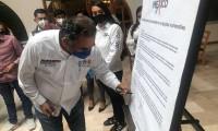 Humberto Aguilar Coronado ratifica sus compromisos con grupos vulnerables