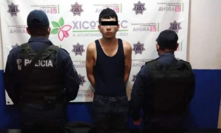 """Aseguran a """"El Bombochas"""" en Xicotepec de Juárez"""