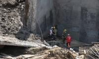 Tras 80 horas de labor fueron rescatados los tres cuerpos atrapados en una construcción en Texmelucan