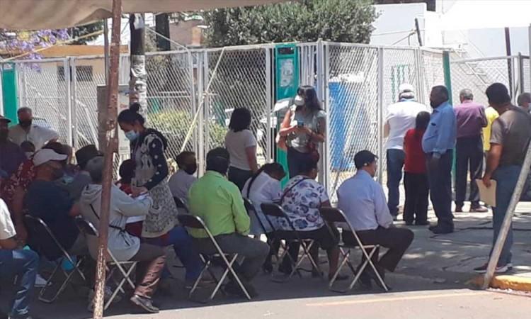 Sin incidentes, dio inicio la segunda etapa de vacunación contra Covid-19 en San Martín Texmelucan