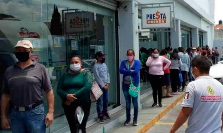Tecamachalco suma 206 casos de Covid-19 y 37 muertos
