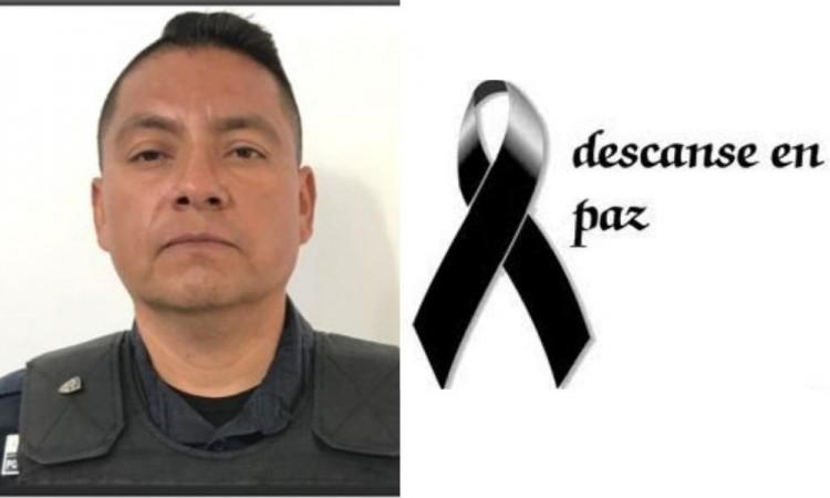 Muere coordinador Operativo de la Policía Municipal de Tehuacán de Covid-19