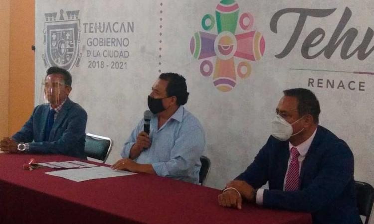 Alcalde suplente tacha conflictos de Tehuacán como 'grilla política'