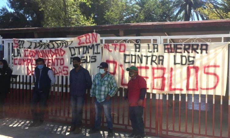 Exigieron respeto a los pueblos originarios.