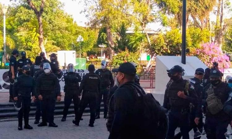 Edil suplente de Tehuacán reconoce falta de 400 policías