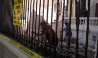 Demuelen construcción en inmueble considerado patrimonio histórico