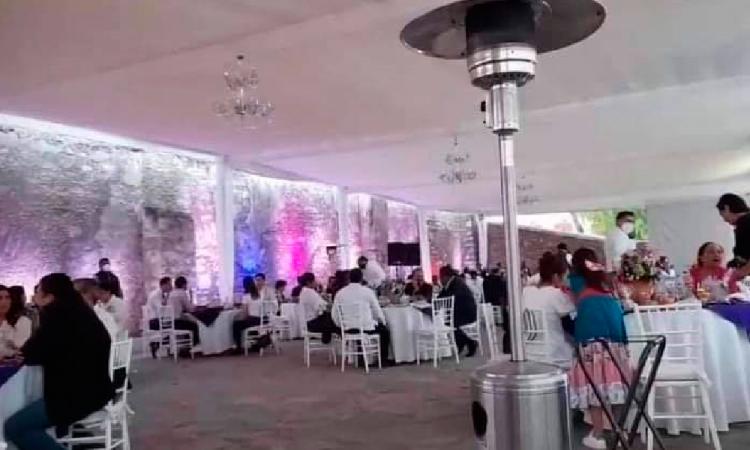 Minimiza alcalde de Tehuacán fiesta Covid realizada por el Ayuntamiento