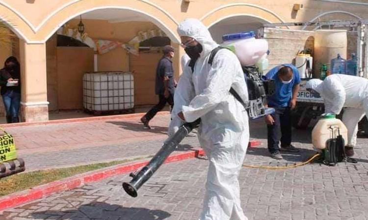 Abren clínica temporal para Covid-19 en Tlacotepec de Juárez