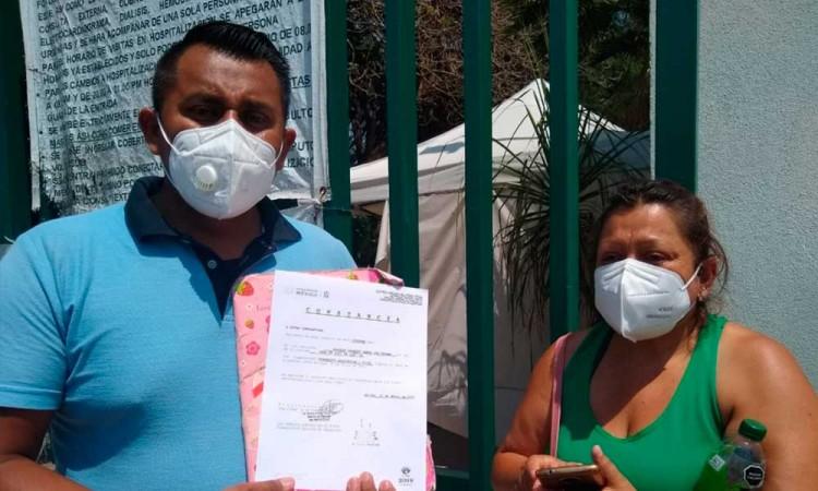 Acusan a clínica de IMSS en Tehuacán por negligencia médica