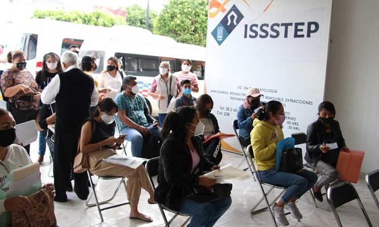 Realiza ISSSTEP jornada de atención regional en Tehuacán