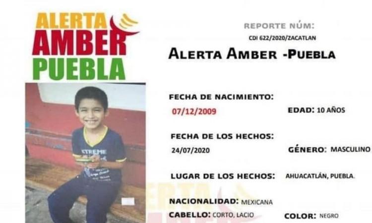 Cumple dos semanas desaparecido del menor Miguel Ángel Pineda Mauricio