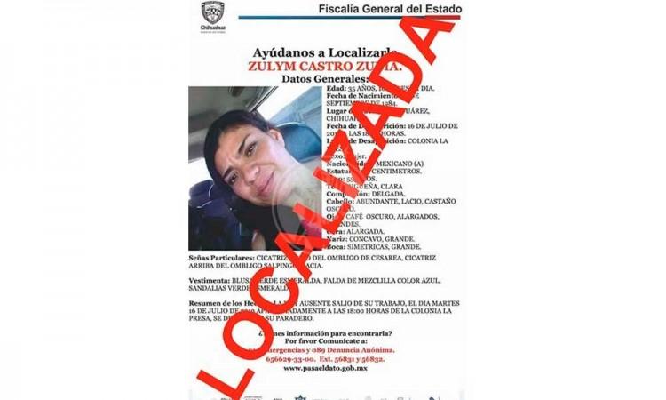 Encuentran a joven de Chihuahua deportada como desaparecida