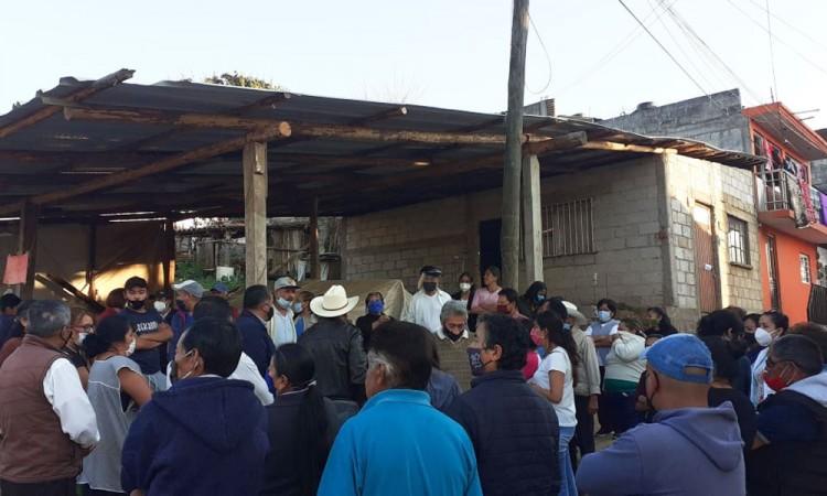 Vecinos protestan por la construcción de una gasera en Zacatlán