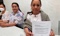 Paty Ramírez candidata del PSI pide apoyo al IEE para evitar violencia política de género en Zacatlán