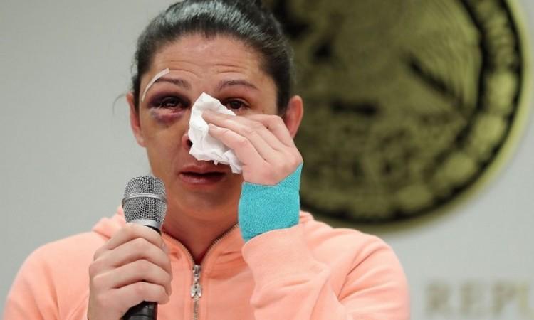 Niegan suspensión a supuesto agresor de Ana Guevara