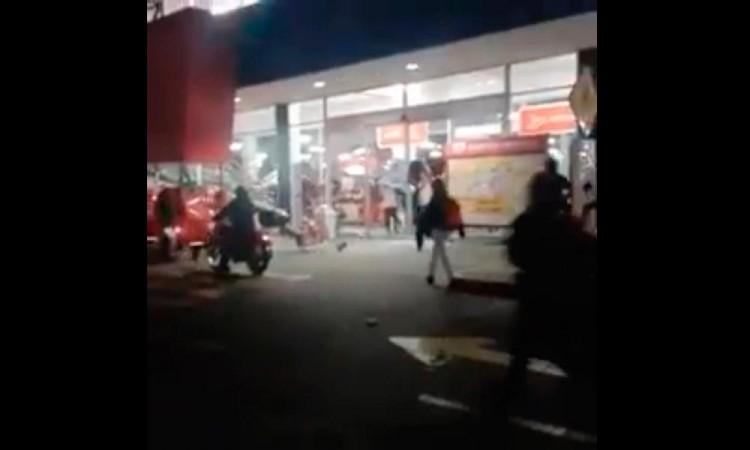 Vandalizan supermercado en Edomex por gasolinazo