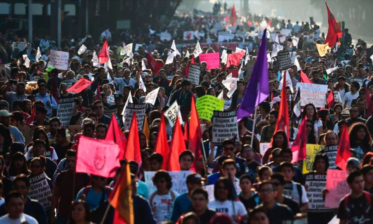 Se une CNTE a protestas contra el gasolinazo