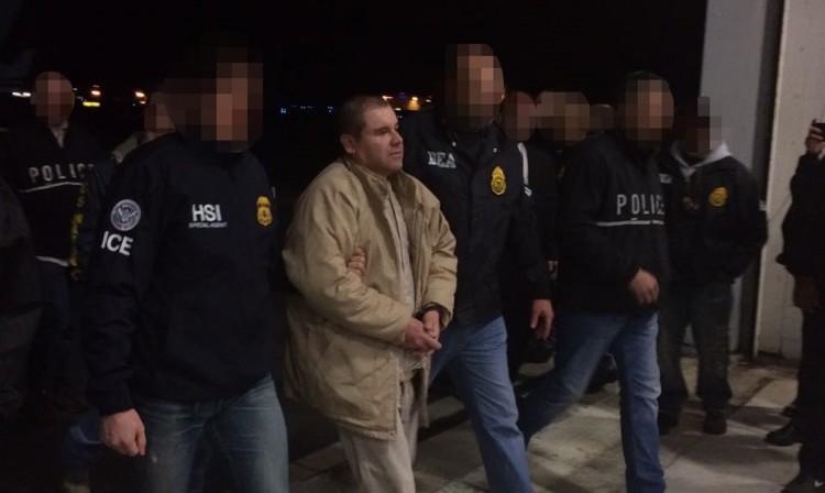 Extraditan a El Chapo Guzmán a Estados Unidos