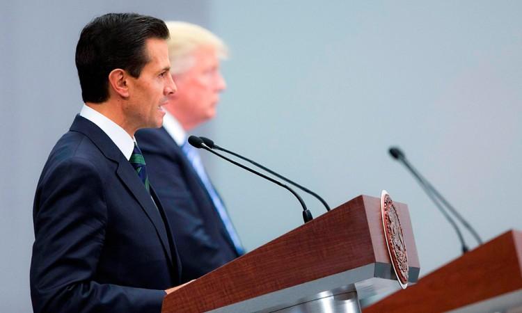 Cancela Peña Nieto encuentro con Donald Trump