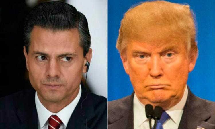 Desmiente SRE nota de la llamada entre Peña y Trump