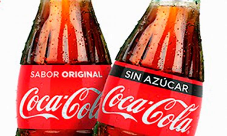 Adiós coca zero y life, hola Coca-cola sin azúcar