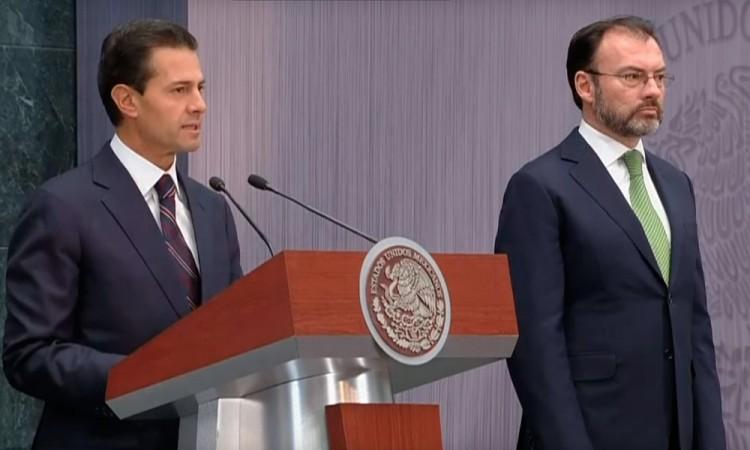 Se reúne Videgaray con secretarios de Estado y Seguridad de EU