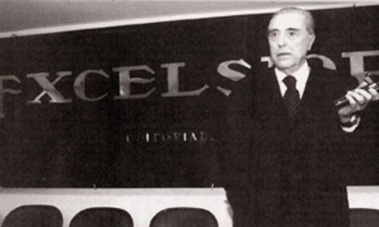 Muere Regino Redondo, director de Excélsior en la era Scherer