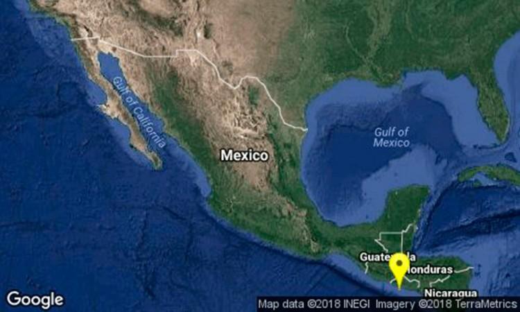 Sismo de 5.3 grados despierta a Chiapas