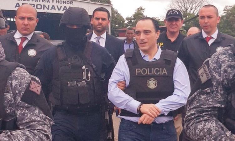 Llega Roberto Borge a México