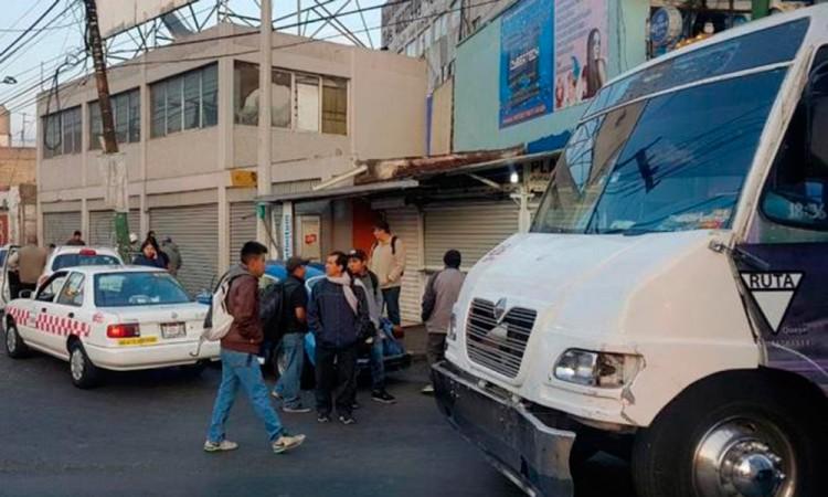 Justiciero mata a asaltante de microbús en Edomex