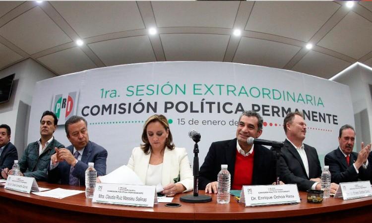 Modifica PRI nombre de coalición a Todos por México