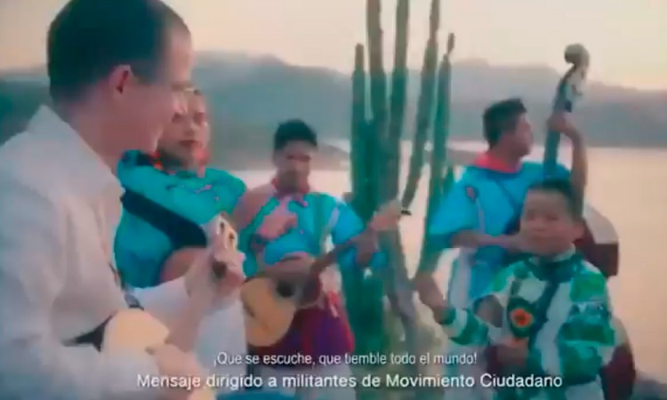 Video: Comparten spot niño Yuawi y Ricardo Anaya