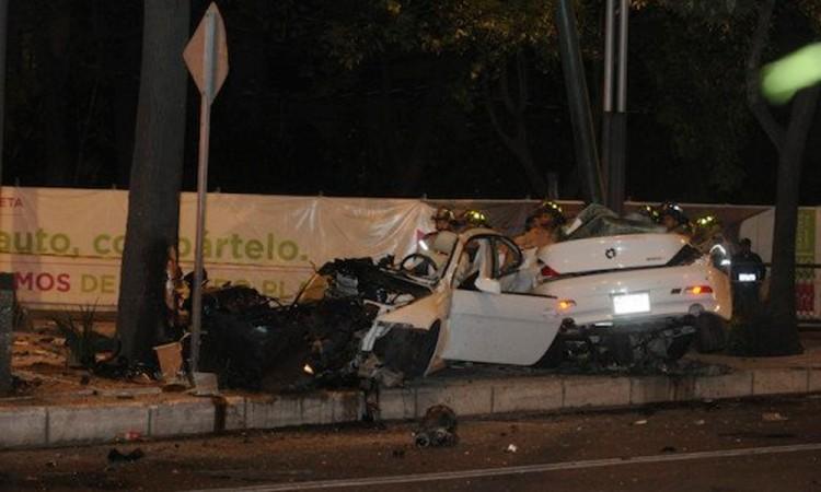Dictan 9 años de cárcel al dueño de BMW estrellado en Reforma