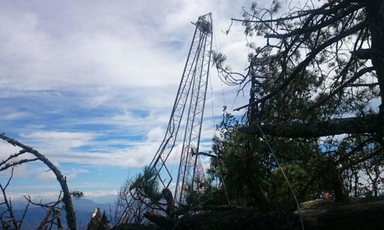 Reparan antena sísmica en Oaxaca